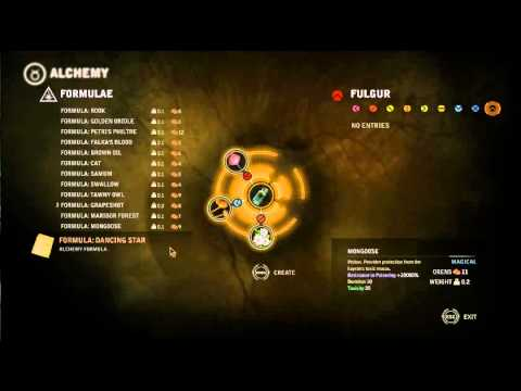 Witcher 2 The Kayran:ostmurk how to make mongoose potion
