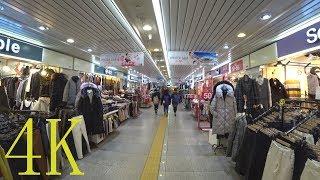 종각역 지하 쇼핑 센터, Jonggak Station Underground Shopping Center (Seoul, South Korea), 4K