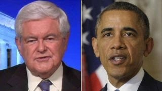 Gingrich rips Obama