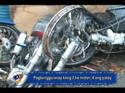 Apat Patay sa Aksidente sa Motor sa Bugasong