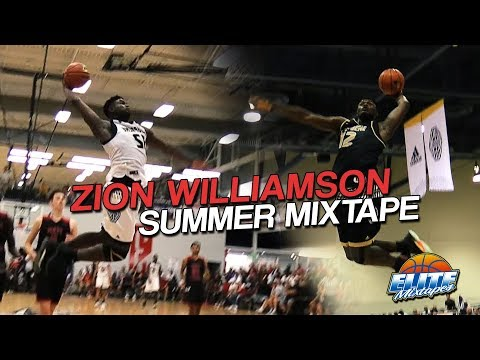 Zion Williamson Is On ANOTHER LEVEL! Official Summer Mixtape