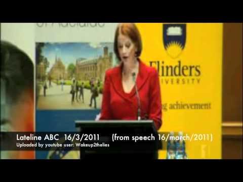 5 big Julia Gillard lies proven