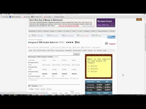 Morningstar   Mutual Fund Analysis