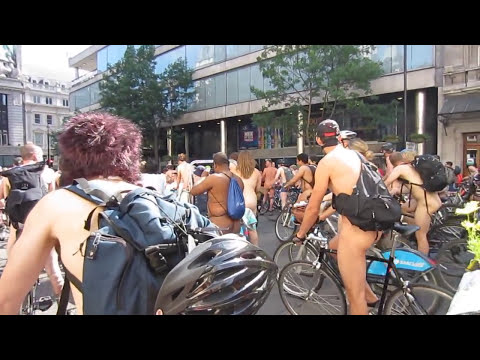 WNBR World Naked Bike Ride London 2013