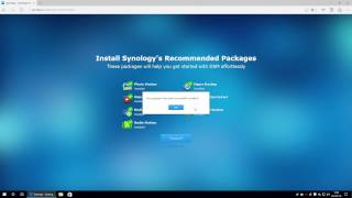 Synology Disk Station DS216j - Management Interface