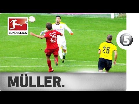 Thomas Müller - Top 5 Goals 2015/16 Hinrunde