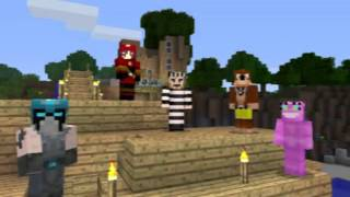 Moar Minecraft 360 Themed Skins Revealed! Banjo and Ms 'Splosion!