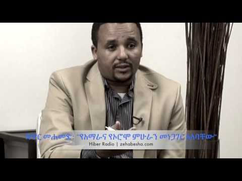 Jawar Mohammed: The Amhara And Oromo Intellectuals Must Talk  Hiber Radio