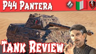 WOT Blitz - P44 Pantera Full Tank Review Tier 8 Italian Medium ||WOT Blitz||