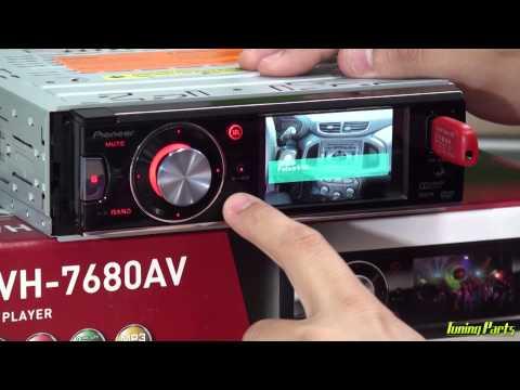 DVD Player Pioneer DVH-7680AV - Lançamento linha 2014