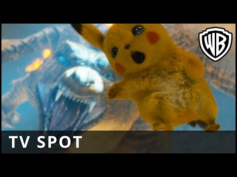 POKÉMON Detective Pikachu – Big Spot - Warner Bros UK