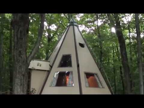 The Island & an Overnight in a Modern Tipi