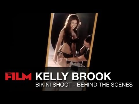 Kelly Brook Total Film bikini photoshoot Video