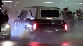 Houston Underground Races - TX2K19 Meet (Cops Shut it Down)