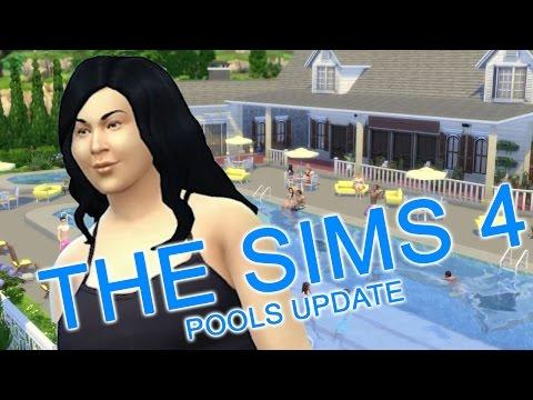 The Sims 4 有看過河馬游泳嗎??[老吳]