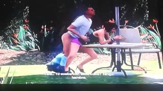Sexo en GTA V. La Poppy es una guarrilla!!! Hard sex with Poppy