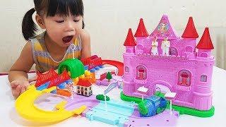 Dream FROZEN Castle Adventure Toy For Kids, Đồ Chơi Trẻ Em Lâu Đài Phiêu Lưu Frozen, BaBiBum