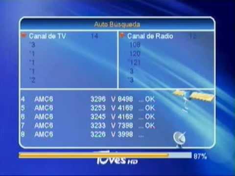 FTA Sand Martin 3033 - TuVes con Sat. Estrella del Sur + Amazonas + Hispasat + AMC