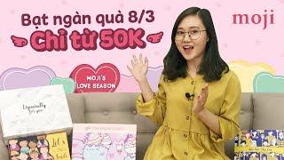 Moji Tour - MUA QUÀ GÌ NGÀY 8/3 KHI TRONG TÚI CHỈ CÒN 50K??? - Moji Channel