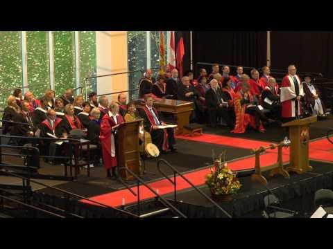 University of New Brunswick, Fredericton 2014 Fall Convocation
