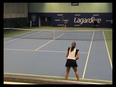 Aravane Rezai vs Stephanie Cohen Aloro part1.WMV Video