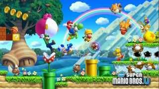 New Super Mario Bros U/ mundo 1 multijugador (parte 1)
