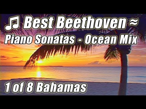 CLASSICAL MUSIC for Studying 1 Instrumental Piano BEETHOVEN Sonatas Pastoral, Moonlight Sonata Study