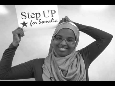 Step UP for Somalia - Walk to support Somali drought victims - somali video