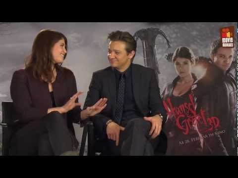 Hansel & Gretel | The cast on shooting in Germany (2013) Jeremy Renner GEWINNSPIEL