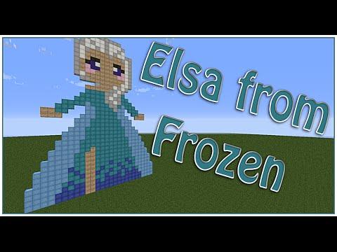Elsa ☠ Frozen Pixel Art