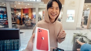 SURPRISING HIM WITH THE NEW IPHONE 11