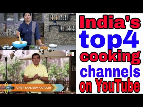 India's top 4 cooking channels-India's top cooking channels