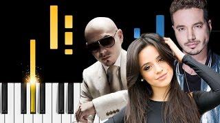 Pitbull & J Balvin - Hey Ma Ft. Camila Cabello - Piano Tutorial - Como Tocar Hey Ma El Piano