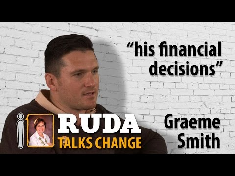 Graeme Smith on his financial decisions