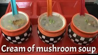 No cream, Cream of mushroom soup ||