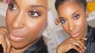 QUICK Work/School Makeup Tutorial! CHEAP and EASY | Jackie Aina