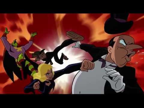 Суперзлодей гоняться за Бэтменом и командой Скуби Ду