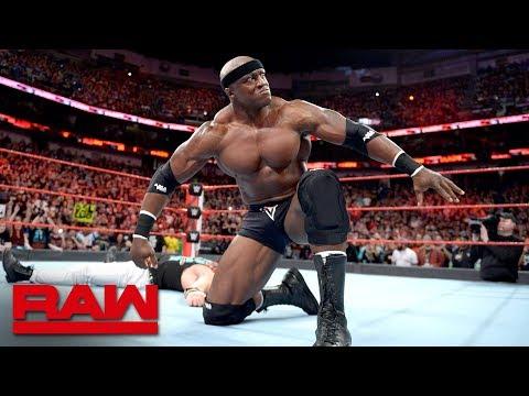 Bobby Lashley returns to Raw to take out Elias: Raw April 9, 2018 thumbnail