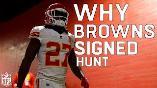 Why Did the Browns Sign Kareem Hunt?