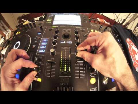 BEGINNER DJ TRANSITION MIXING LESSON USING THE XDJ-RX