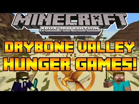 Minecraft Xbox 360 Edition- Drybone Valley Hunger Games (Converted) w/Download! (HD)
