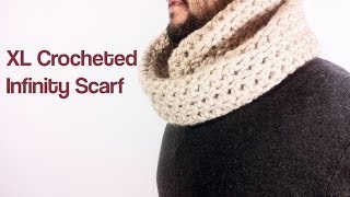 How to Crochet an Infinity Scarf with Bulky Yarn