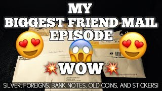 My Biggest Friend Mail Episode! It's Like Christmas Morning! 🎄