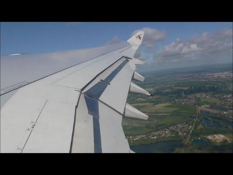 Qatar Airways Airbus A340-642 | London Heathrow to Doha *Full Flight*
