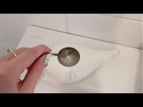 De neti pot - geweldig tegen verstopte sinusholtes