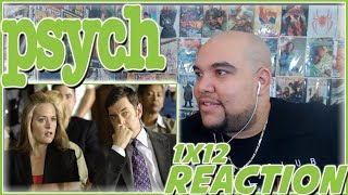 "Psych REACTION Season 1 Episode 12 ""Cloudy With a Chance of Murder"" 1x12 Reaction"