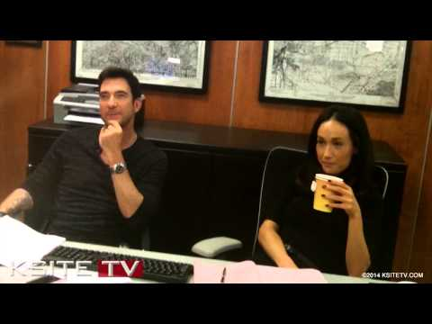 Stalker On Cbs: Maggie Q & Dylan Mcdermott Interview video
