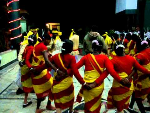 Traditional Folk Dance Santali Assam India (west Bangal Bankura) video