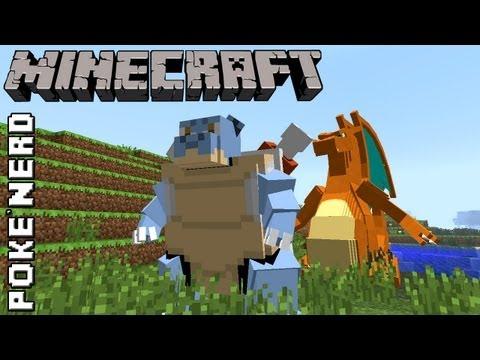 Minecraft : PokeNerd #10 - Charizard e Blastoise