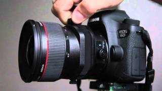 Canon TS-E 24mm f/3.5 L II Tilt and Shift Function